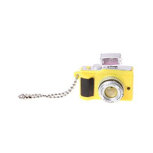ER-NMBGH Mini DIY Kreativer Kamera Spielzeug Led Schlüsselanhänger,Beleuchtung Und Sounding-Kamera-Art Schlüsselanhänger, LED-Taschenlampe Schlüssel Mit Ton-Kind-Kind-lustige Spielzeug-Kette