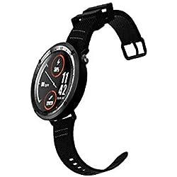 Househome LEMFO LF22 Reloj Inteligente, Reloj Deportivo Inteligente Profesional Reloj Bluetooth GPS para Hombres con Ritmo Cardíaco Podómetro Digital IP67 Función Deportiva Resistente Al Agua