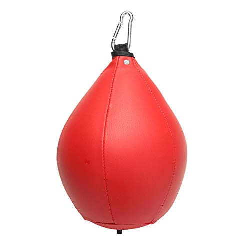 Anddod Boxing Speed Ball Rack Hanging Ball Sanda Equipment Training Boxing Speed Bag Punching Bag - Red