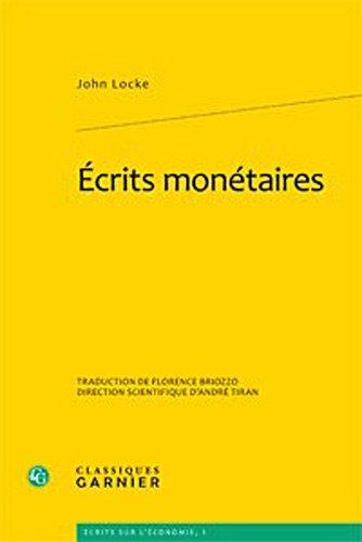 Ecrits monétaires par John Locke
