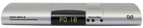 TechniSat Digital MF 4-K Digitaler Kabel-Receiver mit Conax-Entschlüsselungssystem