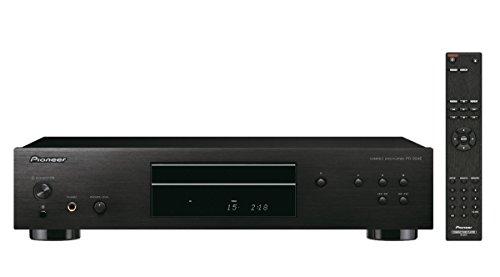 Pioneer PD-30AE(B) Pure-Audio-CD-Player (Silent-Drive-Laufwerk, Precision Clock, D/A-Wandler-Funktion und regelbarem Kopfhörerausgang) Schwarz