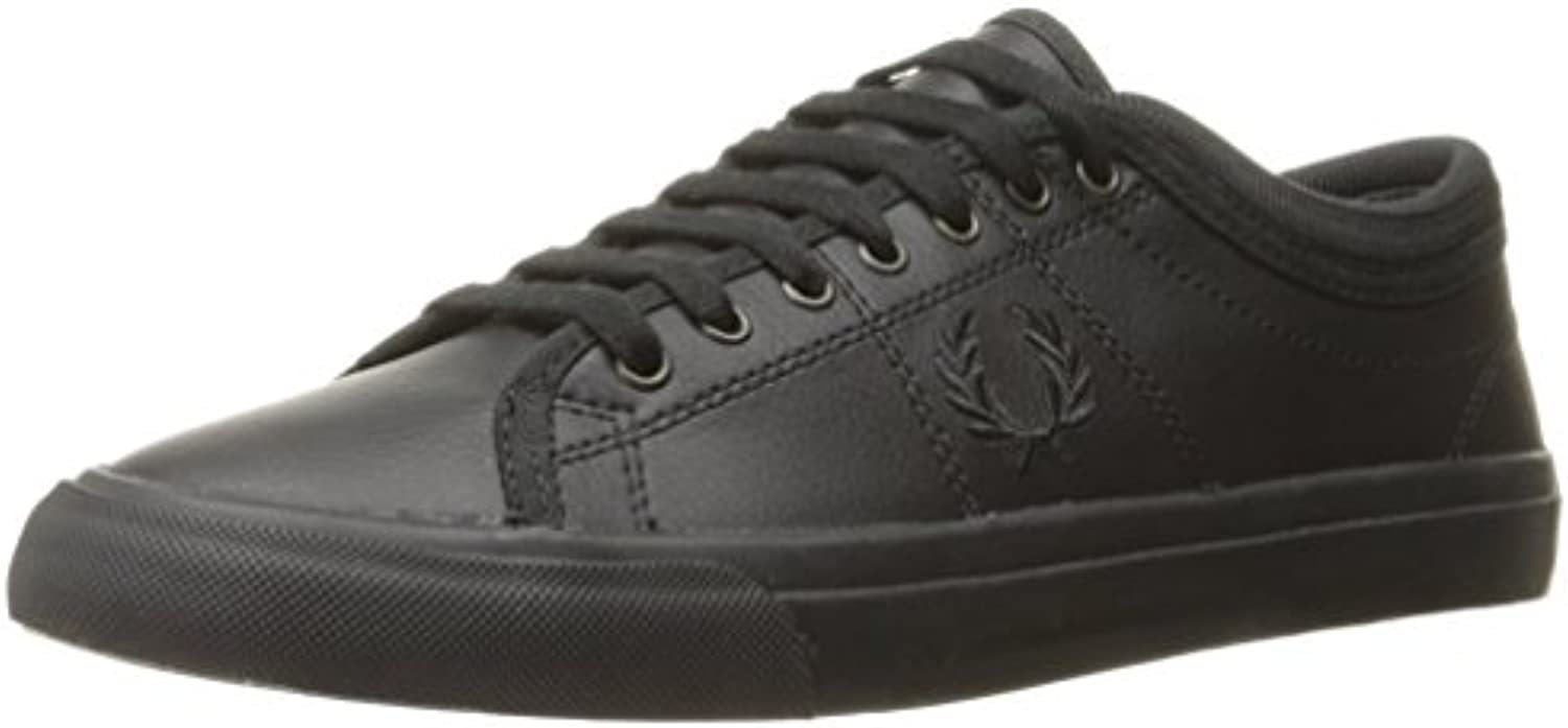 Fred Perry Kendrick Tipped Cuff Leather Black