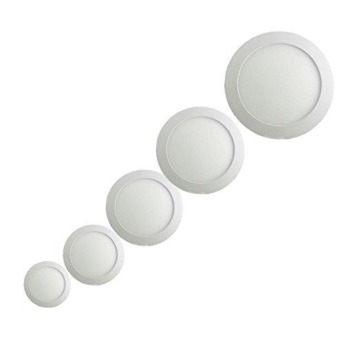 Sienoc 3W 6W 9W 12W 18W Ultra sottile pannello LED
