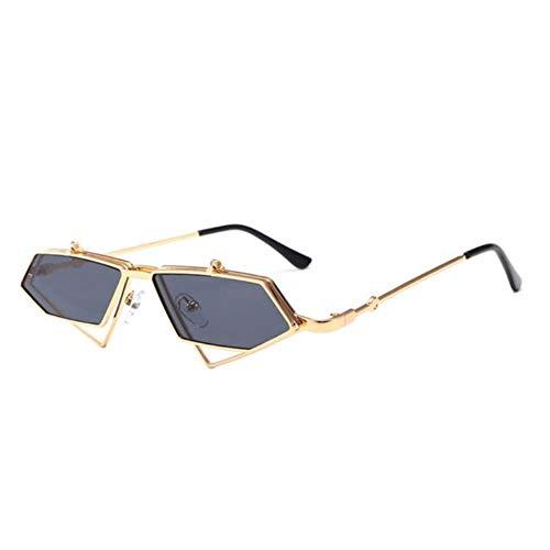 Sxcyu FashionSteampunk Flip Up Gafas Sol Hombres