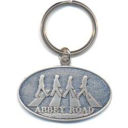 Preisvergleich Produktbild Beatles Abbey Road oval metal keyring (ro)