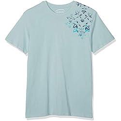 Oxbow TESKA T- T-Shirt Homme, Aqua Light, FR : 2XL (Taille Fabricant : XXL)