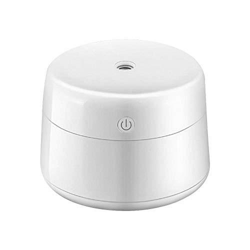 azurely Mini humidificador USB portátil, atomizador Nano de polímero Hidratar la Piel Pulverizador de Aire pequeño Difusor de Aceite Esencial para Hotel de Oficina (Silencioso, sin radiación)