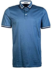 bb39eb0e1e3db9 Ted Baker Gummy SS Collar Detail Polo Shirt Blue