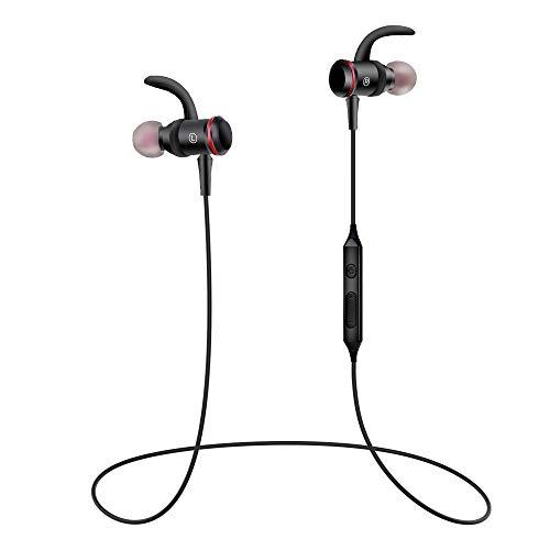 Bluetooth Kopfhörer In-Ear, FayTun Sport Headphones mit 9 Std. Spielzeit/Wasserschutzklasse/eingebautem Mikrofon Sportkopfhörer Laufen/Fitness, Magnetisches Headset für iPhone Android