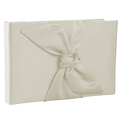 Ivy Lane Design Love Knot Guest Book, Ivory