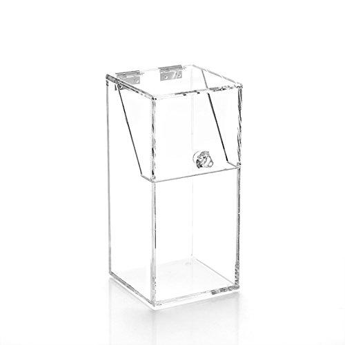 Brosse À Maquillage Acrylique Boîte De Rangement Transparente Boîte De Rangement Perle ( Couleur : No bead )