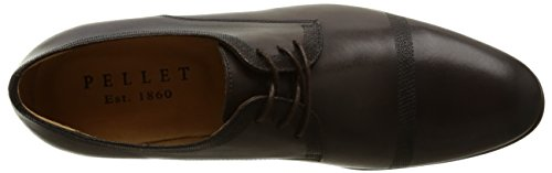 Pellet Harris E16, Chaussures lacées homme Marron (Veau Tdm)