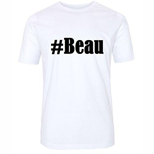 TShirt Beau Hashtag Raute für Damen Herren und Kinder in den Farben ...