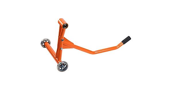 Hi Q Tools Montageständer Motorrad Ständer Motorradheber Einarm Montageständer Ohne Aufnahmepin Orange Unisex Multipurpose Ganzjährig Stahl Auto