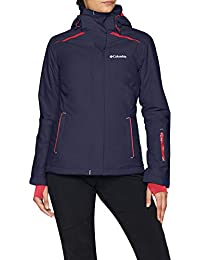 1b402c029d3b Columbia Femme Veste d Hiver Imperméable, On the Slope Jacket, Nylon, Bleu