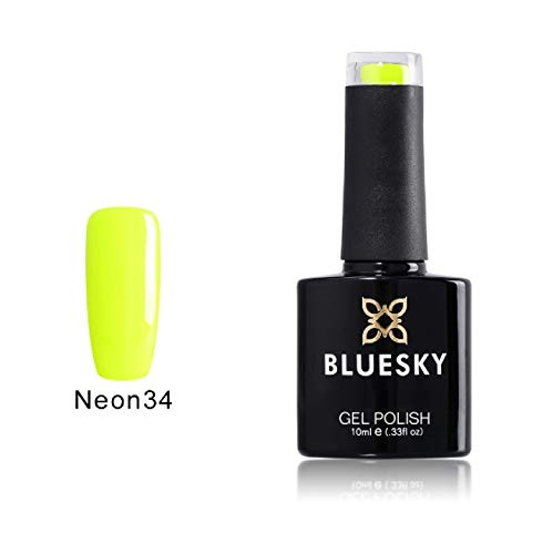 Shinerlac UV LED Gel auflösbarer Nagellack - neon 34, 1er Pack (1 x 10 ml) (Neon Nail Polish Kit)