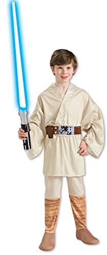 Kid Kostüm Skywalker Luke - Luke Skywalker Kostüm Kinder Gr. 116-146, Größe:S