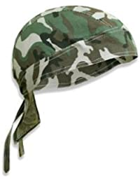 PURECITY© - Bandana militaire préformé US Army Foulard Couvre Tete Casquette Cap - Serrage ajustable - 100% Coton - Airsoft - Paintball - Moto - Biker - Outdoor