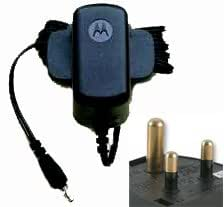 Genuine Motorola F3 & Motofone MC3-41J11 Mains electric travel charger (International to fit: 5 amp plug sockets)
