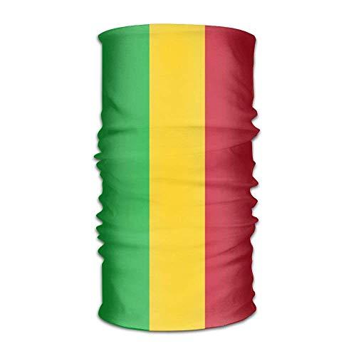 Rghkjlp Flagge von Mali Unisex Outdoor Sportschal Stirnbänder Bandana Maske Halsmanschette Kopfwickel Schweißband Kopfbedeckung Fashion4 -