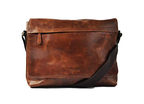 Zerimar Messenger Bag Cuir | Satchel Bag | Sacoche...