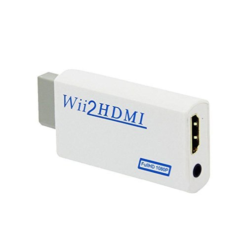 Childhood adaptateur convertisseur HDMI 1080P / 720P 3,5 mm pour Wii HDMI audio