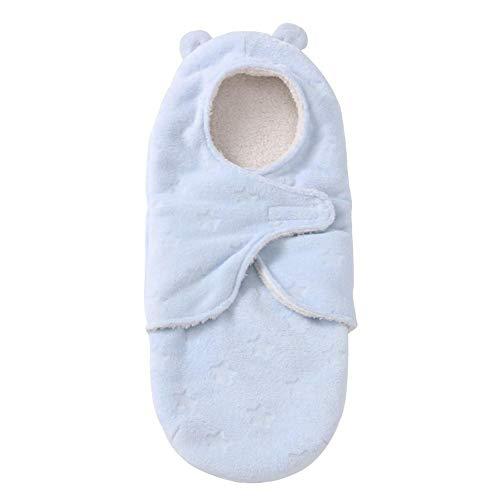 Todaytop Baby Schlafsäcke Kuscheldecke Wickeln Swaddle Decke Coral Fleece Schlafsack Schlafdecke für Kinderwagen, Buggy oder Babybett