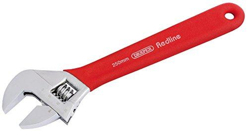 Draper 250 mm Redline 67632 Clé à molette Soft Grip
