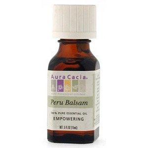 Aura Cacia Pure Essential Oil Peru Balsam - 0.5 fl oz pack of- 6 by Aura Cacia (Oil Peru Balsam)