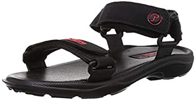 PARAGON Arcade Men's Black Sandals