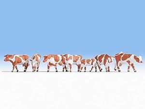 NOCH Diseño de Vaca, Color marrón y Blanco.