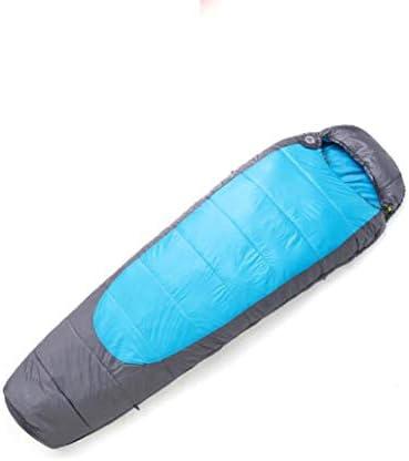 JBHURF Sacco Sacco Sacco a Pelo Ultraleggero per Adulti all'aperto Camping Mummy Sleeping Bag (Coloreee   Blu) B07KJTQFQH Parent | Materiali Di Alta Qualità  | Bel design  | Offerta Speciale  e8d615