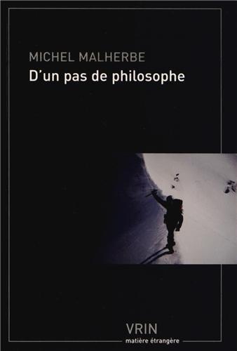 D'un pas de philosophe