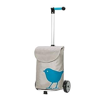 Andersen Shopper Unus und 49 Liter Tasche Bird türkis