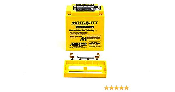Mbtx30u Motobatt Quadflex Agm Bike Batterie 12v 32ah Auto