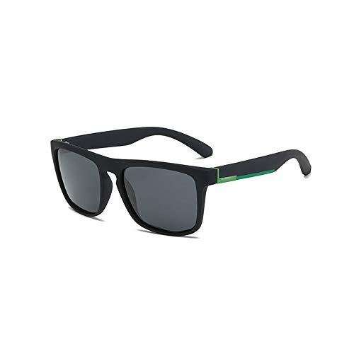 Herren Sonnenbrillen Sonnenbrille Herren Polarized Sonnenbrille Polarized Lenses Ultraleichte UV400 UV-Sonnenbrille für Autos LTJHJD (Color : Schwarz, Size : Kostenlos)