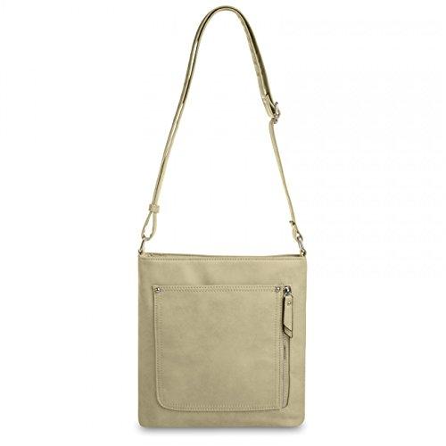 614988529f608 CASPAR Damen Umhänge Tasche ALINA   Handtasche   Schultertasche   Messenger  Bag - in vielen Farben ...