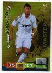 Champions League Adrenalyn XL 2011/2012 Ronaldo Master Real Madrid 11/12 [Toy]