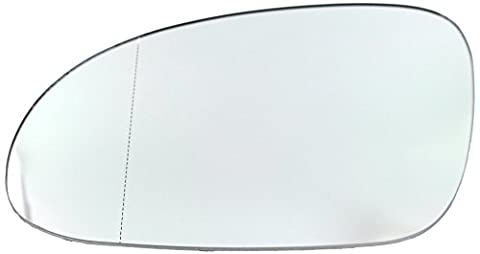 DoctorAuto DR165461 Door Wing Mirror Glass Outer Heated With Plastic Holder Left side