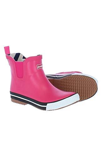 derbe Wattpuuschen Unisex Erwachsene Gummistiefel Regenstiefel, Pink, 37 EU