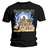 "Tee Shirt Noir Homme Iron Maiden ""Sbit"" Taille Xl"
