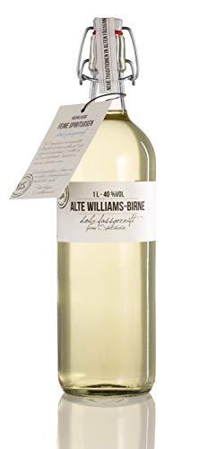 BIRKENHOF Brennerei | Alte Williams Birne  - feine holzfassgereifte Spirituose  | (1 x 1l ) - 40 {9b4e86291a7c91caf9dfbd97cca6729e7c5d19f33442566e7039d88d9f2c8299} vol.