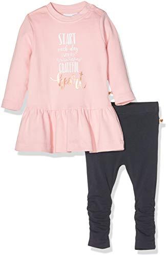 Schiesser Baby-Mädchen Set: Shirt 1/1 + Leggings Jogginganzug, Rot (Rosa 503), 86 (Herstellergröße: 086)