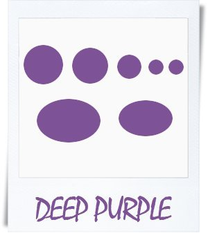 Doudoune Patch de réparation kit (Autocollant) Deep Purple