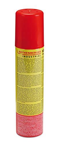 Rothenberger Industrial 35840 Universalgas Brenn - Gas - Kartusche, Hoher Reinheitsgrad, Für Feuerzeuge Oder Gas - Brenner Zum Wiederbefüllen Inkl. 5 Adapter, 100 ml