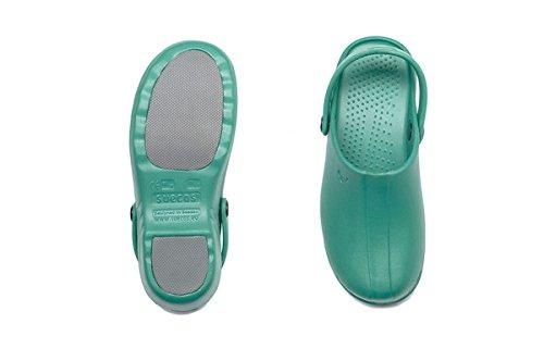 Suecos® Oden, Damen Clogs & Pantoletten Grün