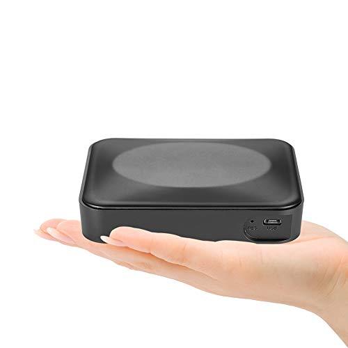 Preisvergleich Produktbild YMXLJJ 10000mAh Portable Mobile Power 1080P HD Ultra-dünne Kamera 160 ° Wide-Winkel-Lens Non-Porous Mobile Night Vision Matt Home Security Camera (Black)