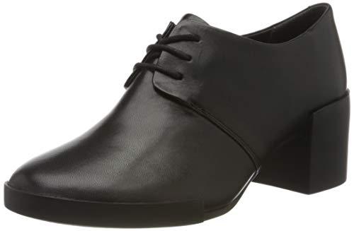 Camper Lotta, Zapatos de Cordones Oxford para Mujer, Schwarz Black 1, 38 EU
