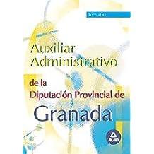 Auxiliar administrativo diputacion de granada. Temario